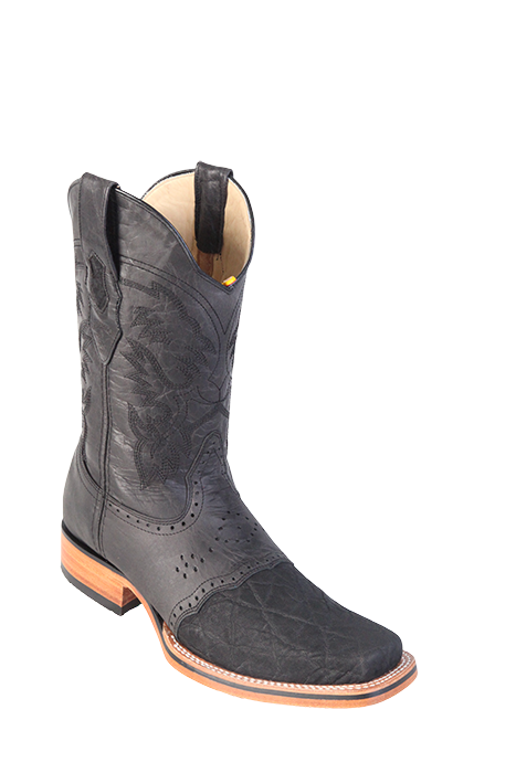 the latest presenting best sale Elephant - Black - Rubber Sole - Men's Rodeo Boot